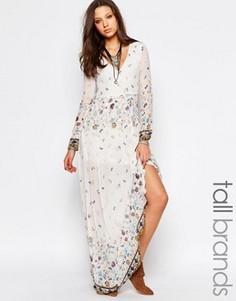 Платье макси с принтом Glamorous Tall - Мульти