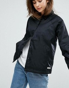 Черная тренерская куртка Converse - Черный