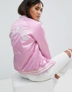 Университетская куртка Champion - Розовый
