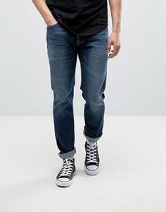 Темные выбеленные джинсы Nudie Jeans Co Dude Dan - Темно-синий
