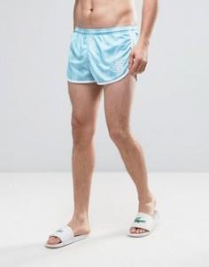 Голубые шорты для плавания в стиле ретро SikSilk - Синий