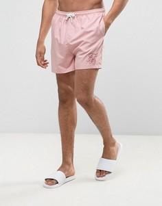 Розовые шорты для плавания SikSilk - Розовый