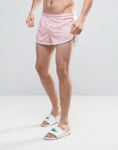 Розовые шорты для плавания в стиле ретро SikSilk - Розовый