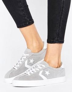 Серые замшевые кроссовки Converse Breakpoint - Серый