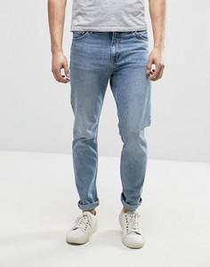 Синие зауженные джинсы Weekday Sunday Wow - Синий