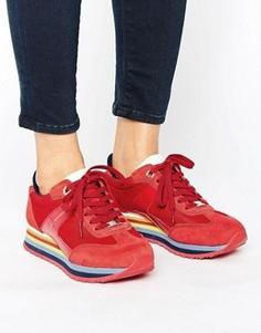 Красные кроссовки Tommy Hilfiger - Красный