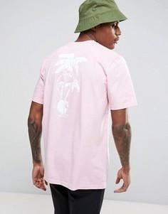 Футболка с принтом Carhartt WIP - Розовый