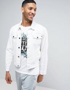 Белая джинсовая куртка Casual Friday - Белый