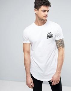 Белая футболка с логотипом Kings Will Dream - Белый