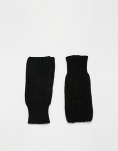 Перчатки без пальцев Cheap Monday - Черный