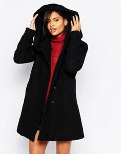 Пальто с высокой горловиной Vila - Черный