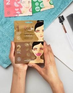 Набор с 2-этапным применением с маской для губ Yes To Coconut - Бесцветный