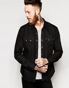 Черная джинсовая рубашка в стиле вестерн Levis - Черный Levis®