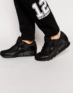 Кроссовки Nike Air Max 90 Essential 537384-090 - Черный