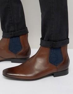 Ботинки челси Ted Baker Hourb - Коричневый