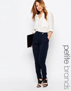 Прямые брюки-галифе Vero Moda Petite - Темно-синий