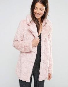 Искусственная шуба Glamorous - Розовый