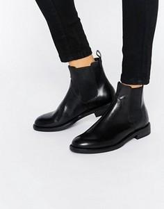 Черные кожаные ботинки челси Vagabond Amina - Черный