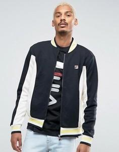 Спортивная куртка с полосками Fila Vintage - Черный