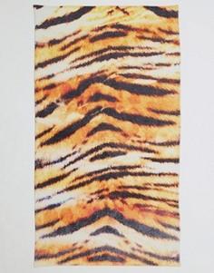 Пляжное полотенце с тигровым принтом ASOS - Мульти