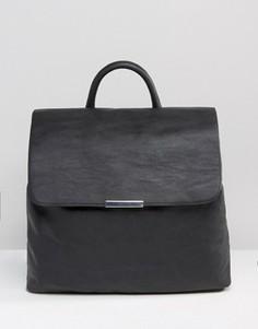Рюкзак в минималистическом стиле Monki - Черный