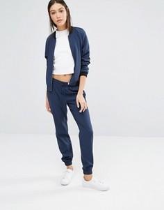 Спортивные брюки с завязками на талии Vero Moda - Темно-синий