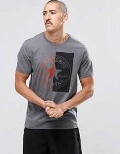 Черная футболка Converse 10001084-A01 - Черный