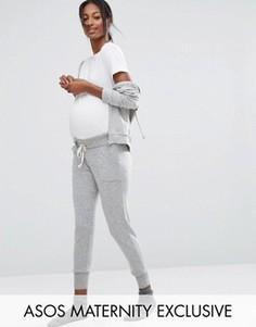 Джоггеры для беременных ASOS Maternity LOUNGE - Серый