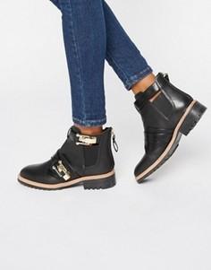 Ботинки челси с пряжкой ALDO - Черный