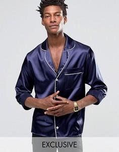 Ночная рубашка Reclaimed Vintage - Темно-синий