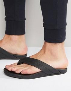 Кожаные шлепанцы Toms Semana - Черный