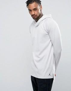 Худи с рукавами реглан Nike Jordan Lux 834541-072 - Бежевый