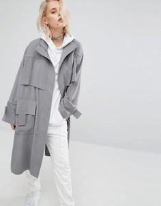 Куртка-тренч KKXX - Серый