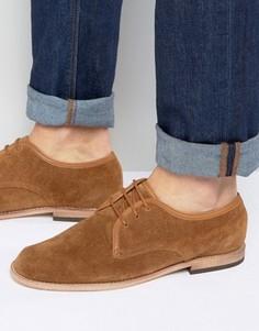 Замшевые туфли дерби Hudson London Hayane - Рыжий