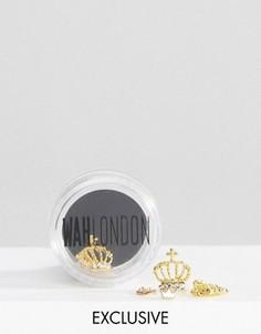 Горшочки для дизайна ногтей WAH London & ASOS - золотистая корона - Золотой