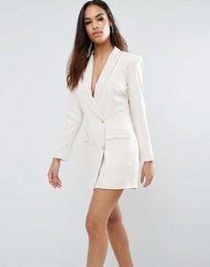 Платье-блейзер Unique 21 - Бежевый