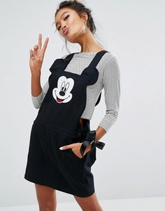 Сарафан с Микки Маусом Lazy Oaf X Disney - Черный
