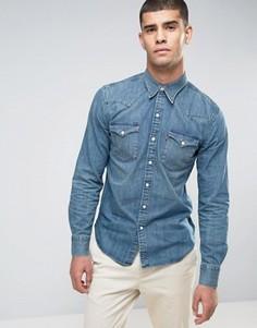 Рубашка в стиле вестерн Levis Barstow - Синий Levis®