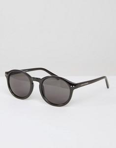 Солнцезащитные очки в круглой оправе Cheap Monday - Черный
