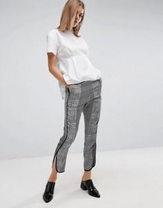 Укороченные брюки-шаровары с абстрактным принтом ASOS - Мульти
