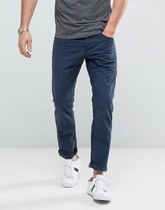 Повседневные темно-синие брюки Esprit 5 - Темно-синий