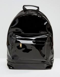 Черный лакированный рюкзак Mi-Pac - Черный