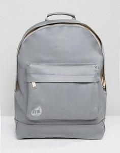 Серый прорезиненный рюкзак Mi-Pac - Серый