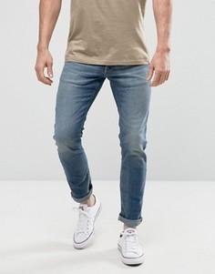 Голубые узкие джинсы Jack & Jones - Синий