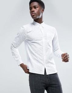 Рубашка с длинными рукавами D-Struct - Белый