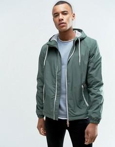 Легкая куртка с капюшоном Esprit - Зеленый