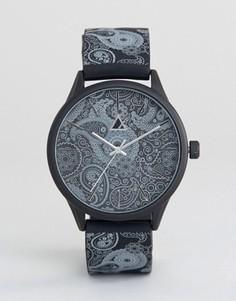 Часы с отделкой пейсли ASOS - Черный
