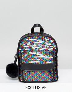 Рюкзак с пайетками Skinnydip Pinata - Мульти