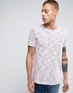 Полихроматическая футболка сливового цвета Lindbergh - Фиолетовый