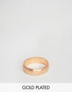 Золотисто-розовое кольцо Simon Carter эксклюзивно для ASOS - Золотой